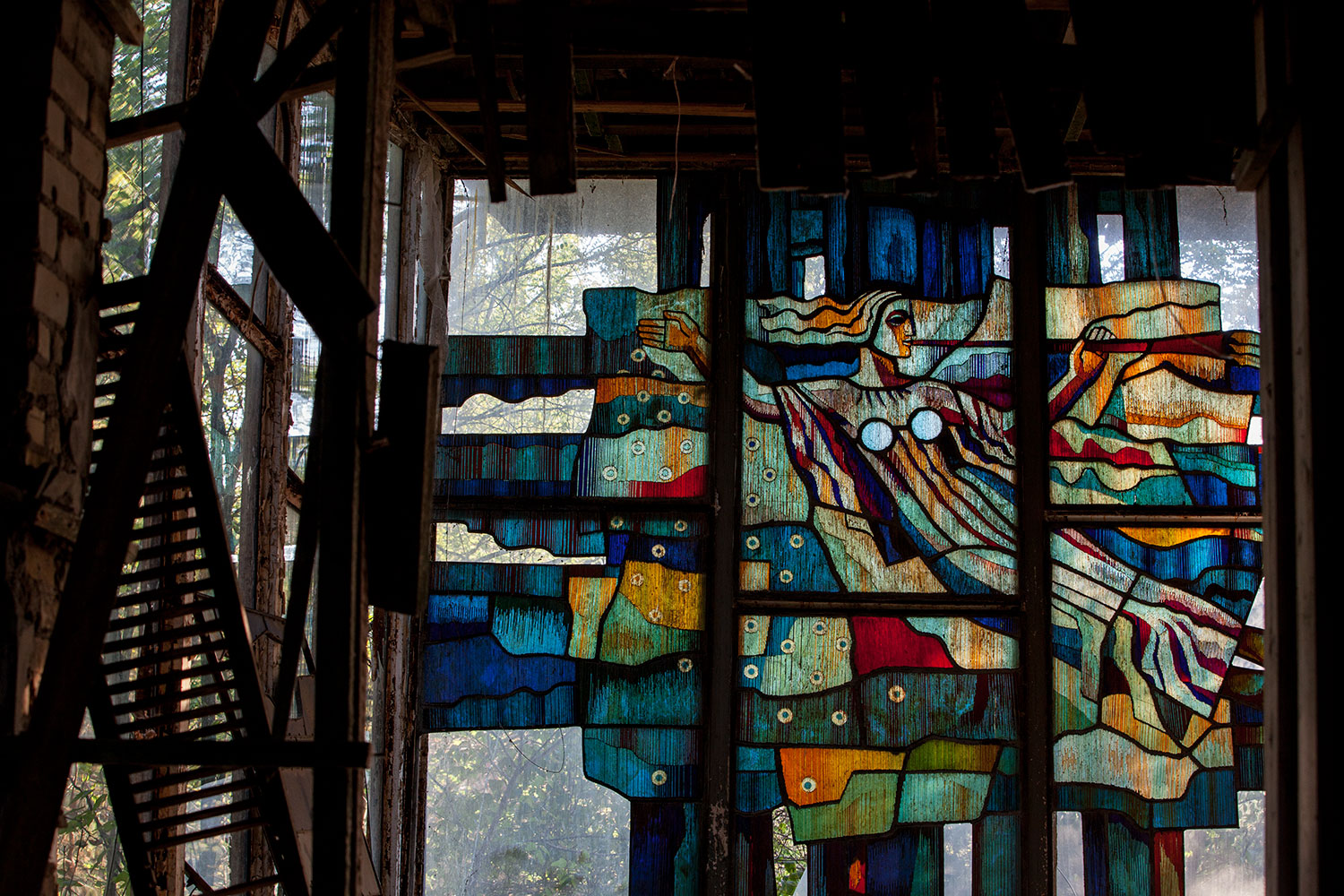 Stained Glass Pripyat